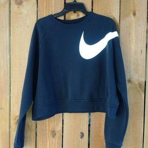 Nike cropped sweater